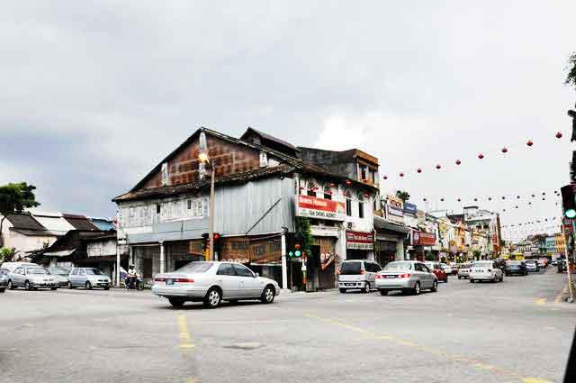 Kajang Town Front View