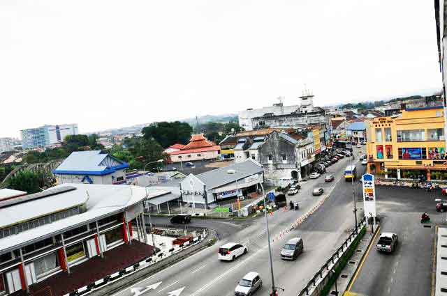 Kajang Town Back View