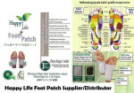 Happy Life Foot Patch Supplier and Distributor for Malaysia