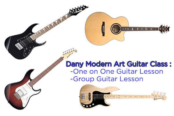 Guitar Lesson and Guitar Class in Malaysia