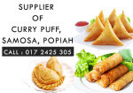 Supplier of Curry Puff, Samosa and Popiah in Selangor