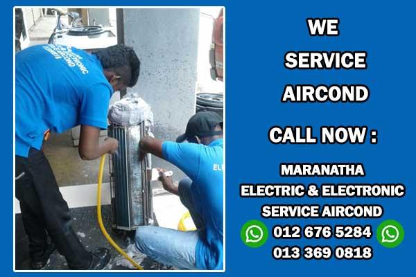 Aircond Service in Klang Valley, Kajang, Cheras, Sungai Long, Cyberjaya and Putrajaya