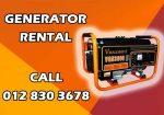 Generator Rental Kajang