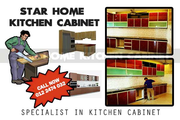 Star Home Kitchen Cabinet Kajang