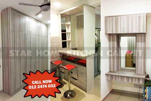 Star Home Kitchen Cabinet Selangor